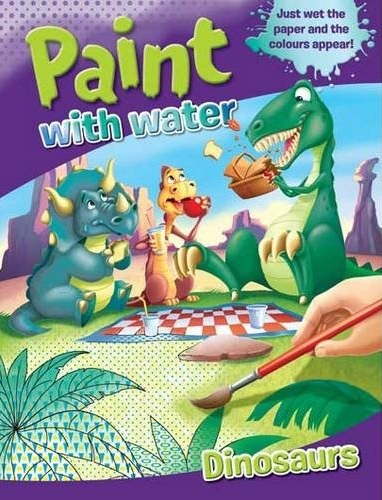 Paint With Water: Dinosaurs