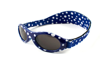 Adventure Baby Banz Sunglasses (Blue Dot)