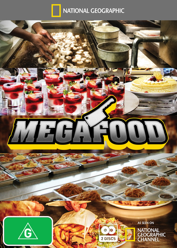 National Geographic: Megafood on DVD