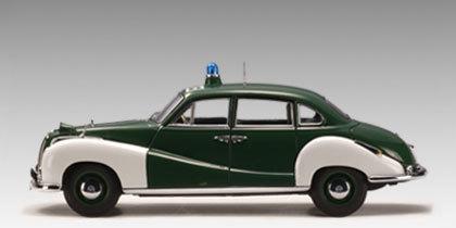 AUTOart 1:18 BMW 501 Police Car Diecast Model image
