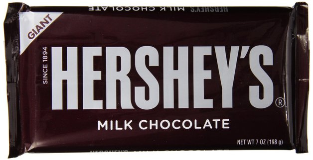 Hershey's Bar Giant Milk Chocolate 198g