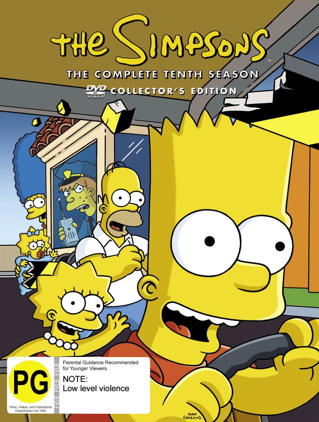 The Simpsons - Season 10 on DVD image