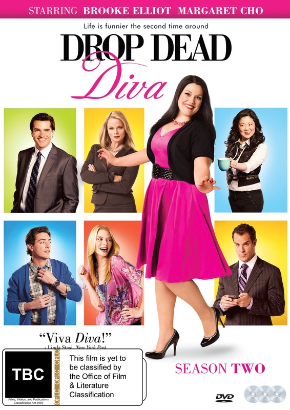 Drop Dead Diva - Season 2 on DVD