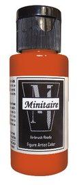 Badger: Minitaire Acrylic Paint - Hazard Orange (30ml)