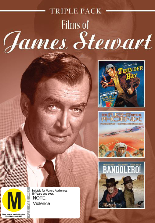James Stewart - Triple Pack on DVD