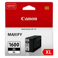 Canon Ink Cartridge - PGI1600XLBK (Black High Yield)