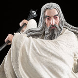 The Hobbit: Saruman the White at Dol Guldur - 1:6 Scale Replica Statue