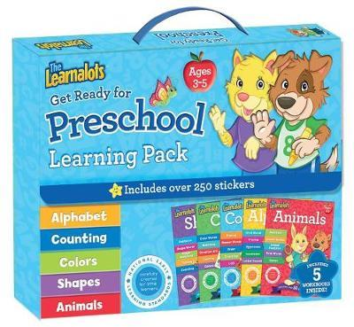 The Learnalots Get Ready for Preschool Learning Pack Ages 3-5 by Rainstorm