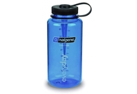 Nalgene 1.0L Wide Mouth Tritan Bottle (Blue)