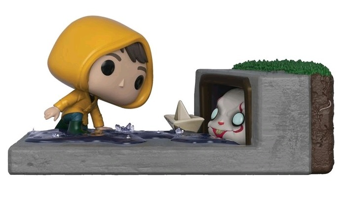 Pennywise In Gutter Pop Vinyl Diorama At Mighty Ape Nz