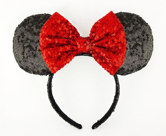 Minnie Mouse Sequined Ears image