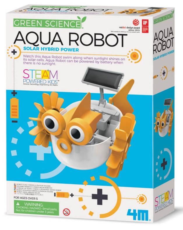 4M: Green Science - Aqua Robot