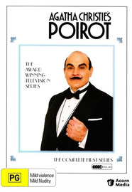 Agatha Christie's: Poirot - Series One (4 Disc Set) on DVD image