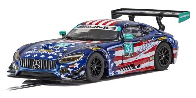 Scalextric: Mercedes AMG GT3 #33 (Riley Motorsports) - Slot Car