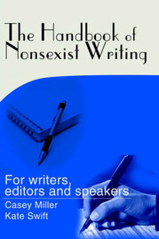 The Handbook of Nonsexist Writing by Casey Miller image