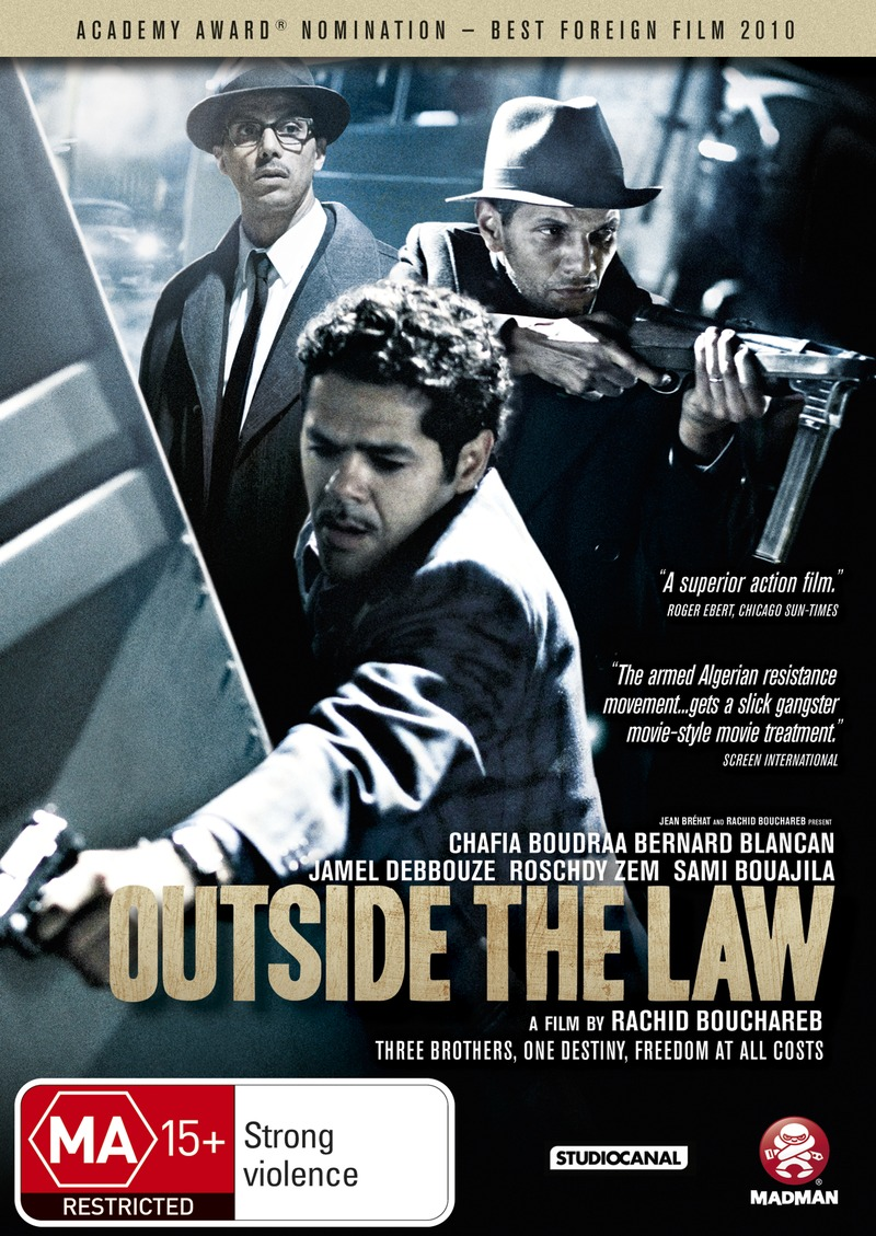 Outside the Law on DVD image