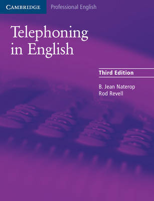 Telephoning in English Pupil's Book by B.Jean Naterop image