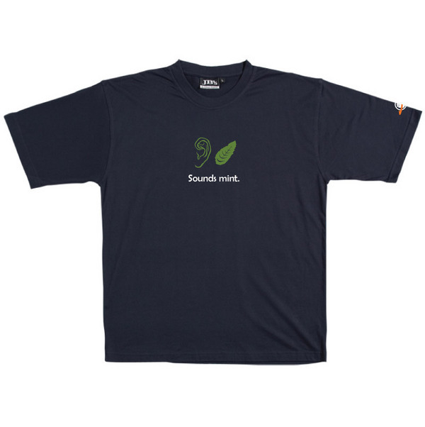Sounds Mint - Tshirt (Navy) for