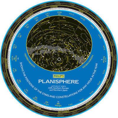 Philip's Planisphere: USA, Southern Europe, Japan