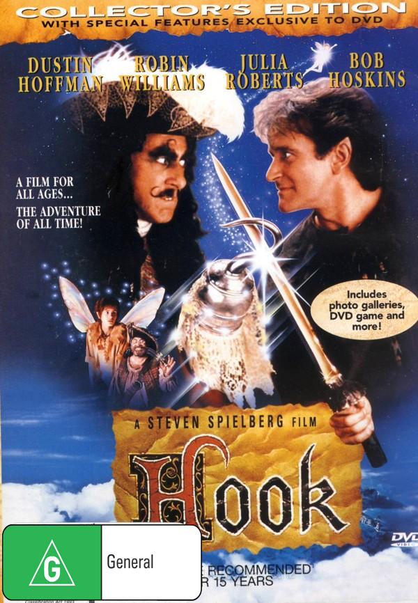 Hook on DVD image