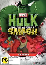 Hulk And The Agents Of Smash: For Asgard on DVD