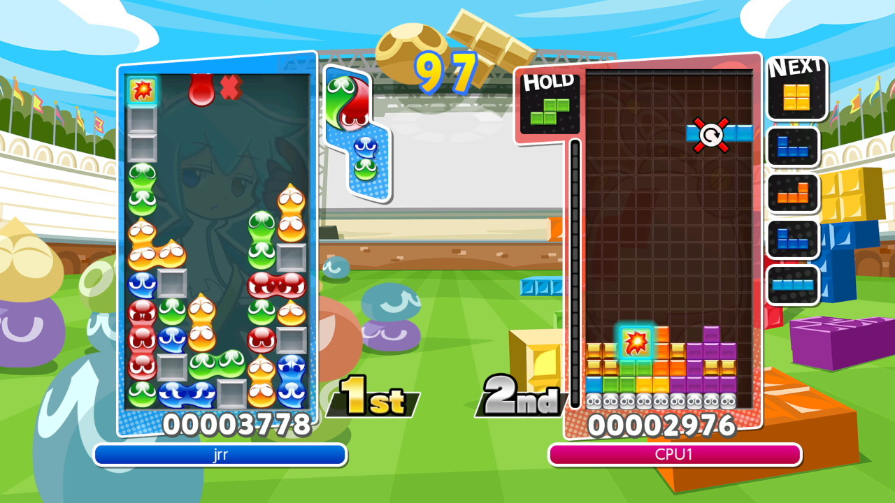 Puyo Puyo Tetris for PS4 image