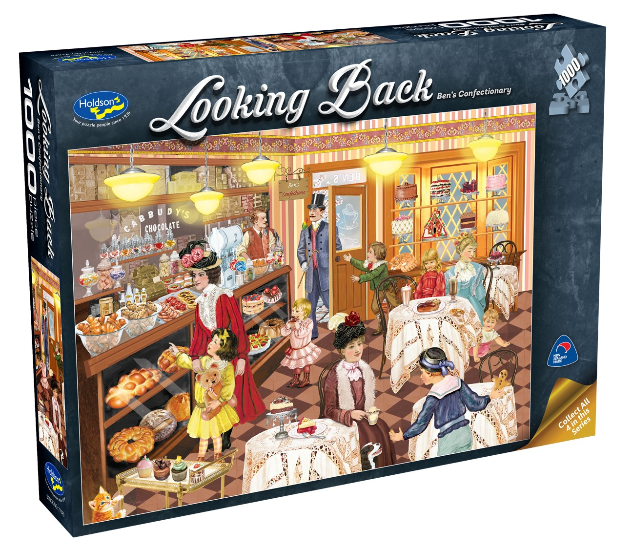 Holdson: 1000 Piece Puzzle - Looking Back (Bens Confectionary) image