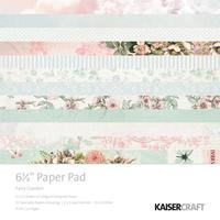 """Kaisercraft: Fairy Garden - 6.5"""" Paper Pad"""