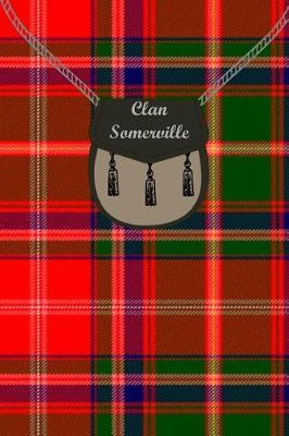 Clan Somerville Tartan Journal/Notebook by Clan Somerville