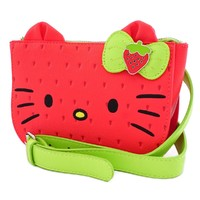 Loungefly:Hello Kitty - Strawberry Waist Bag