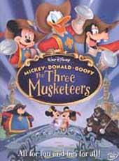 The Three Musketeers (Mickey, Donald, Goofy In) on DVD