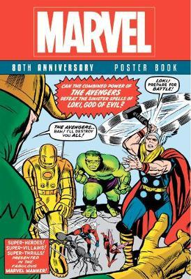 Marvel 80th Anniversary Poster Book by Marvel Comics