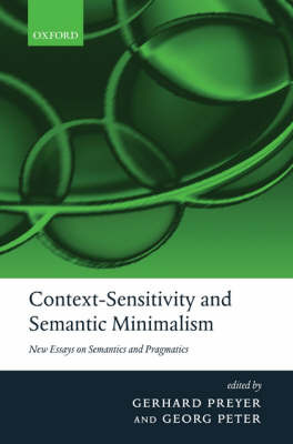 Context-Sensitivity and Semantic Minimalism image