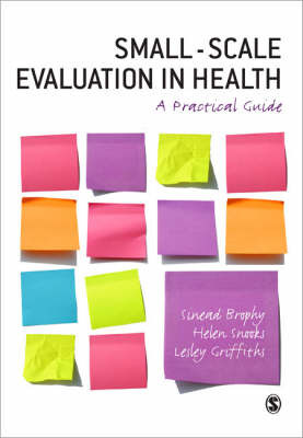 Small-Scale Evaluation in Health by Sinead Brophy image