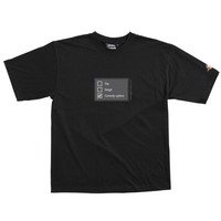 Poll - Tshirt (Black) Medium for  image