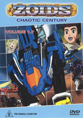 Zoids (Chaotic Century) Vol  1.7 on DVD