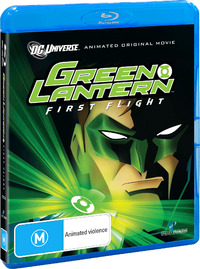Green Lantern: First Flight on Blu-ray