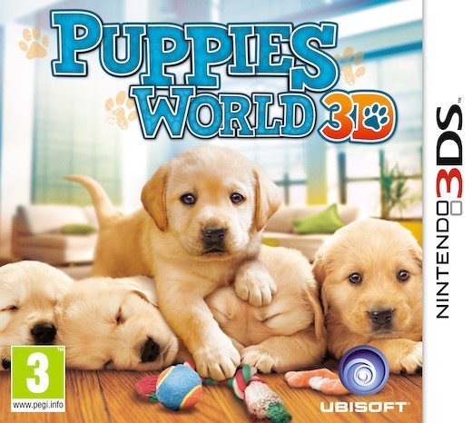Puppies World 3D for Nintendo 3DS image