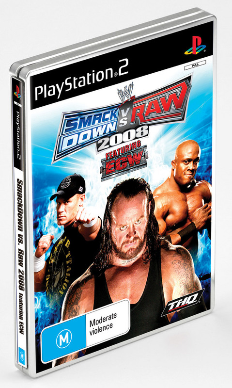 WWE SmackDown! vs. RAW 2008 Steelcase Edition for PlayStation 2