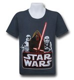 Star Wars Force Awakens Baddies T-Shirt (Size 4)