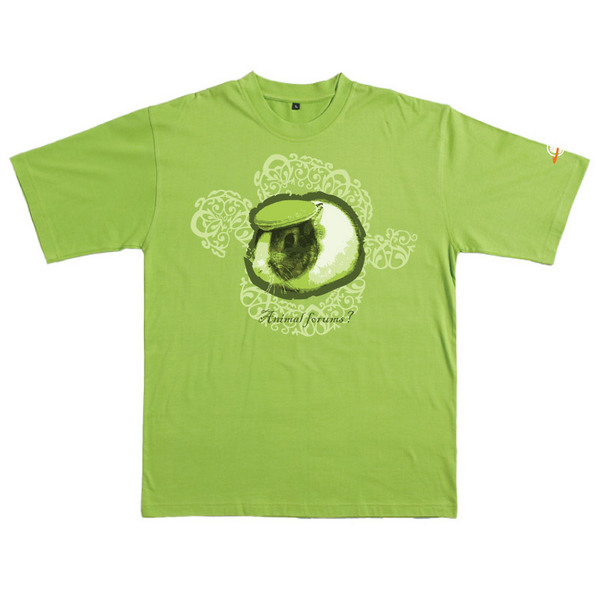 Animal Forums - Tshirt (Lime) for  image