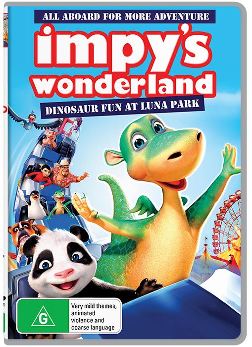 Impy's Wonderland on DVD