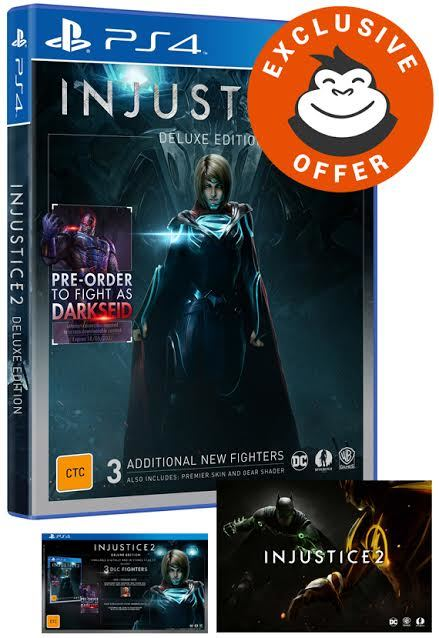 Injustice 2 Deluxe Edition for PS4 image