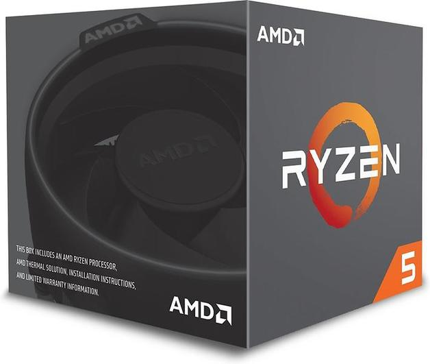 Amd Ryzen 5 1400 Quad Core Cpu With Wraith Stealth 65w Cooler At