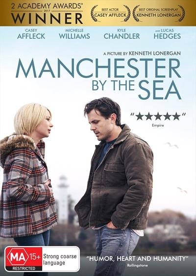 Manchester by the Sea on DVD image