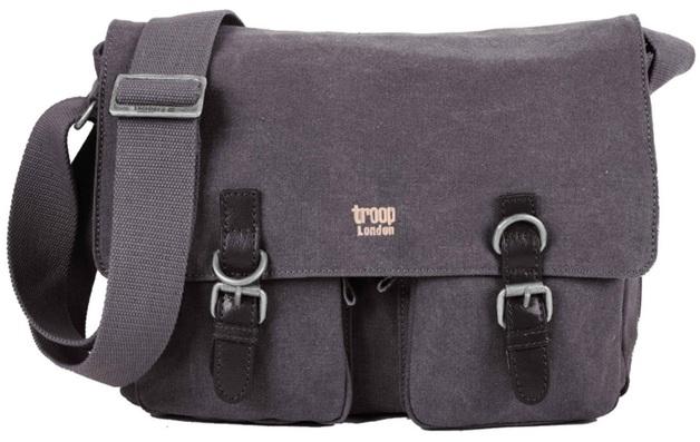 Troop London: Classic Satchel Bag - Black