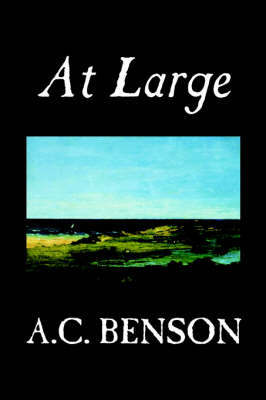 At Large by A.C. Benson image