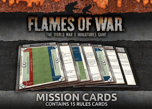 Flames of War: Mission Cards