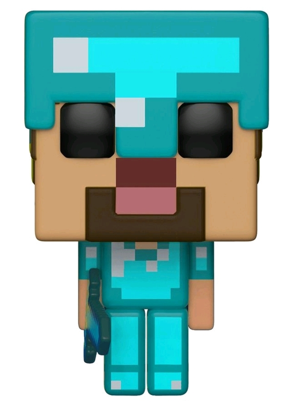 Minecraft: Steve (Diamond Armor) - Pop! Vinyl Figure