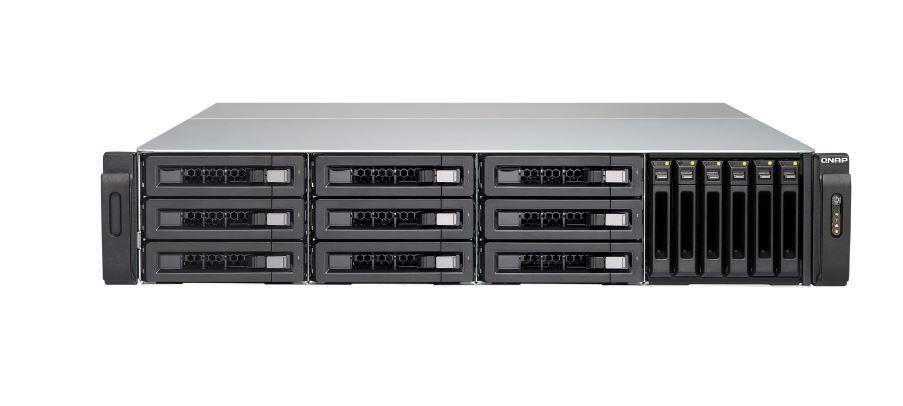 QNAP TVS-1582TU-i7-32G NAS,9+6 BAY(NO DISK),32GB,I7-7700,T-BOLT3,GbE(4),10GbE(2),2U,2YR image